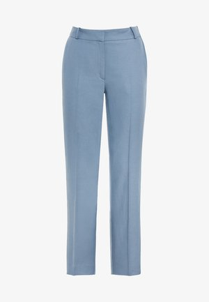 MIT LEINEN & TENCEL - Pantalon classique - light blue