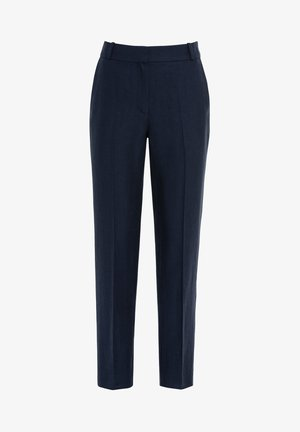 MIT LEINEN & TENCEL - Pantalon classique - indigo