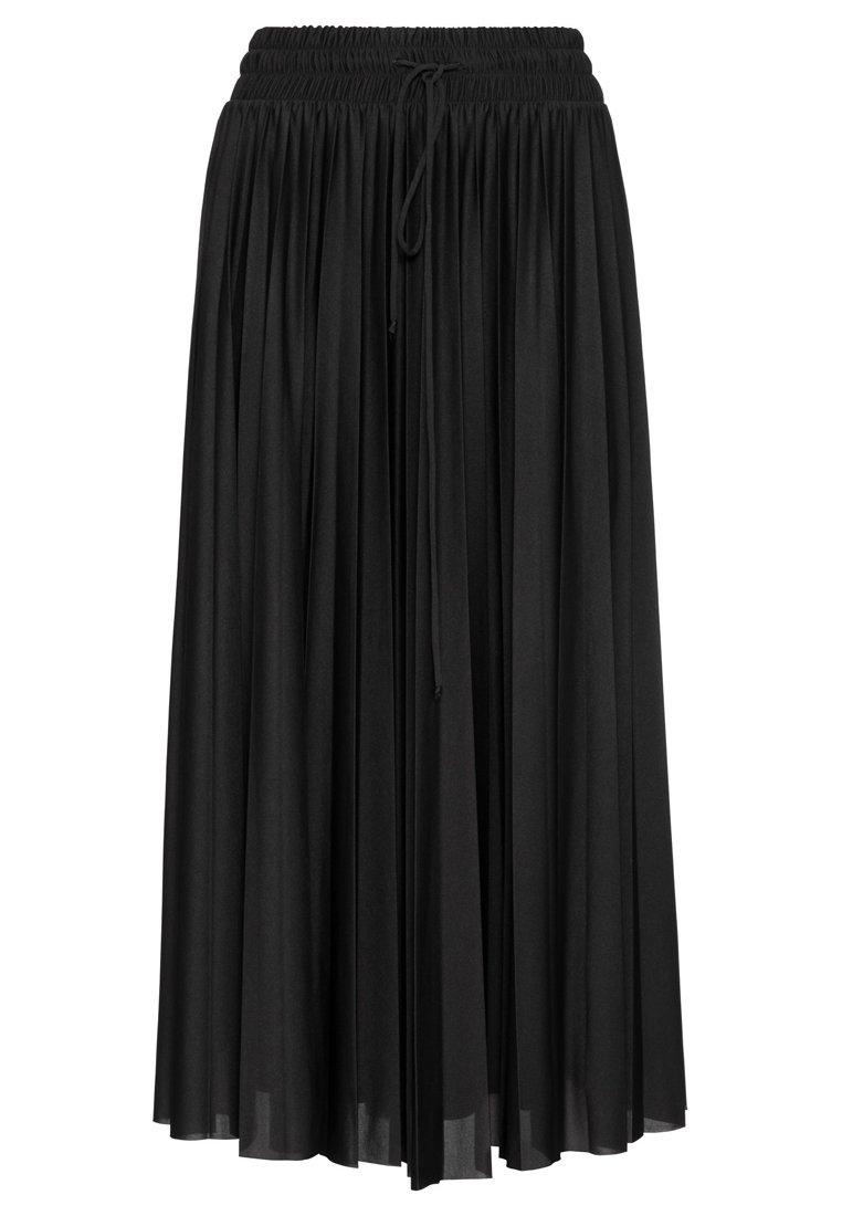 HALLHUBER Pleated skirt - black