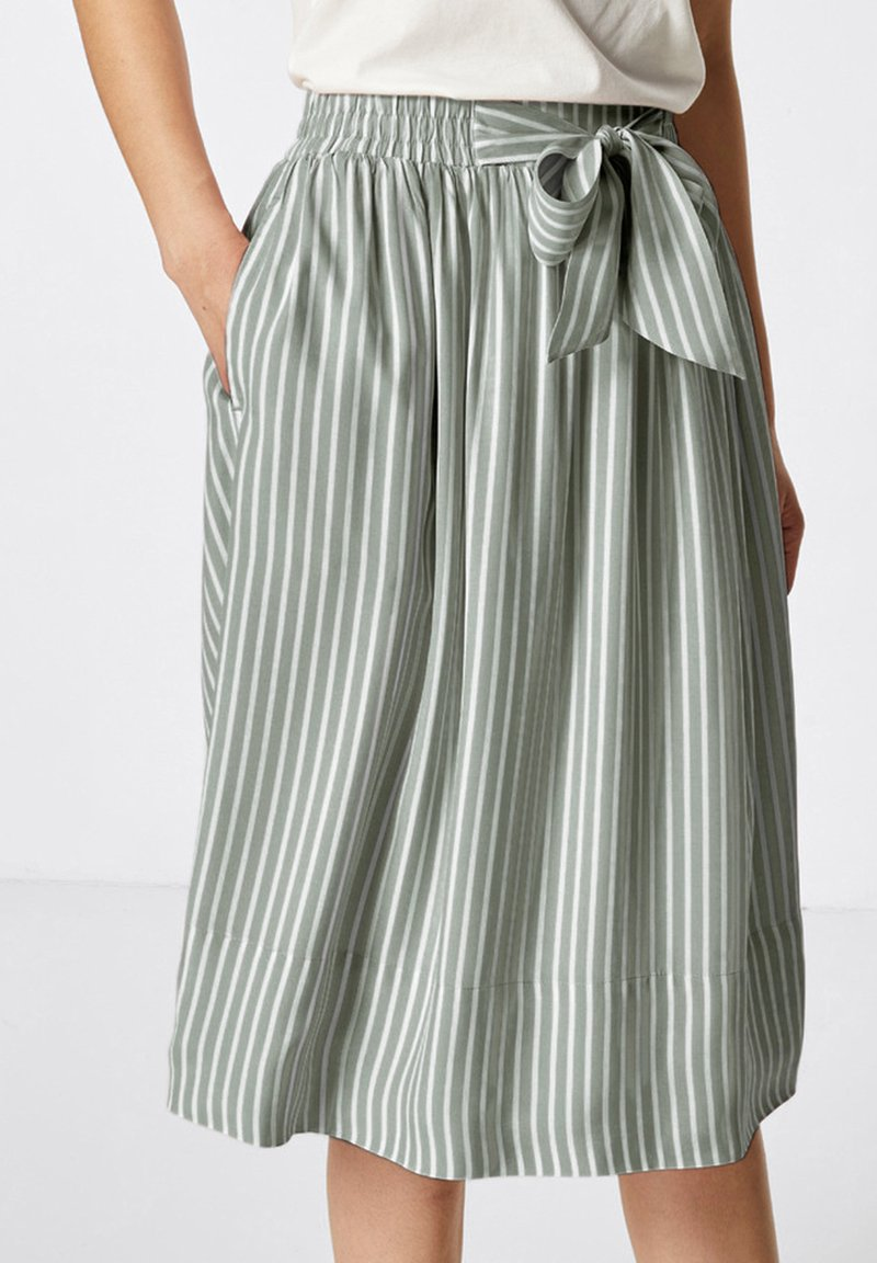 HALLHUBER - A-line skirt - salbei