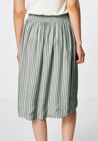 HALLHUBER - A-line skirt - salbei - 2