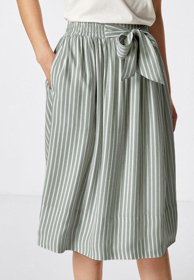 A-line skirt - salbei
