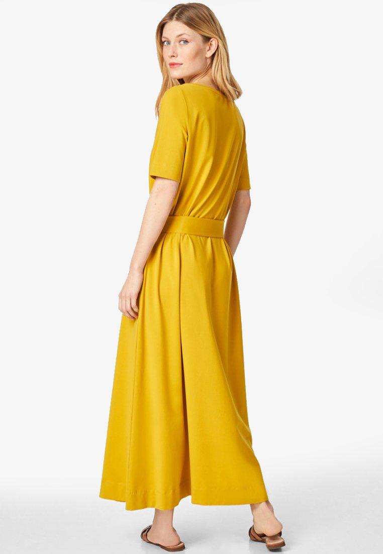 Maxikleid - mustard yellow