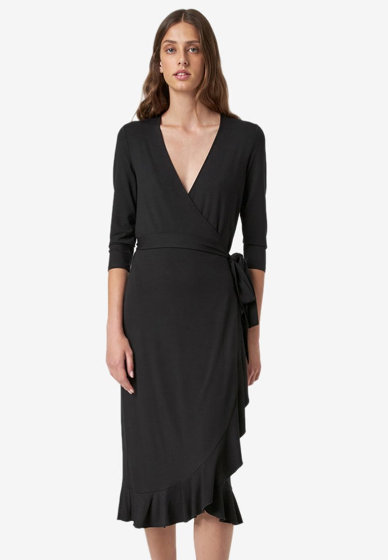 HALLHUBER - 3/4 sleeves - Jersey dress - black