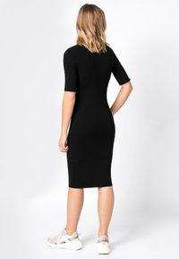 HALLHUBER - Shift dress - black - 1