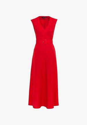 IN MIDILÄNGE - Maxi dress - red
