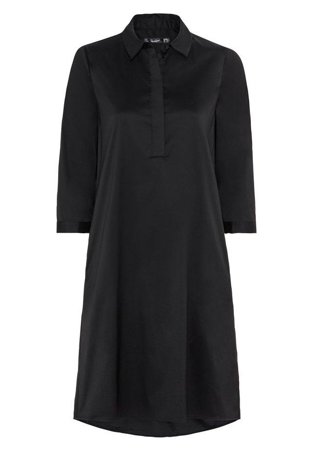 Blusenkleid - schwarz