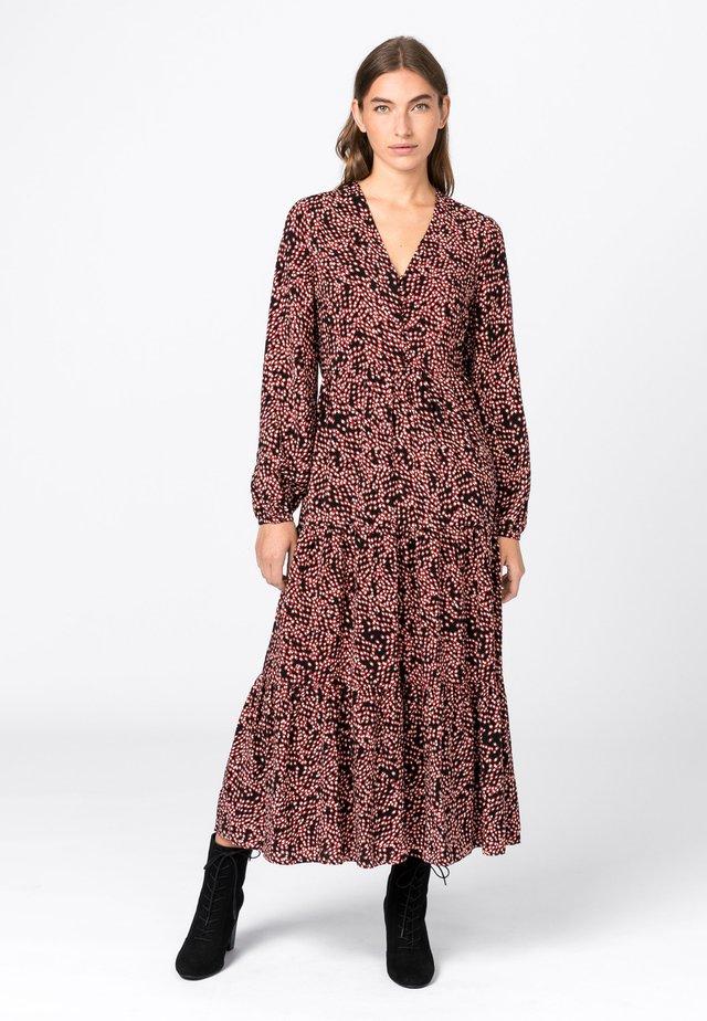 MIT TUPFENPRINT - Korte jurk - light brown