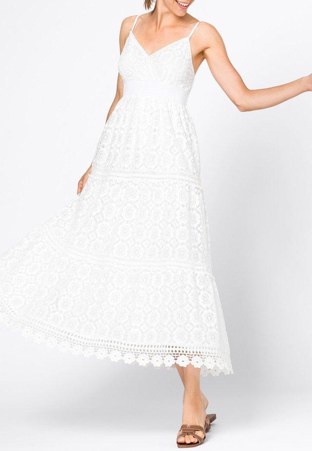 Maxi dress - hvit