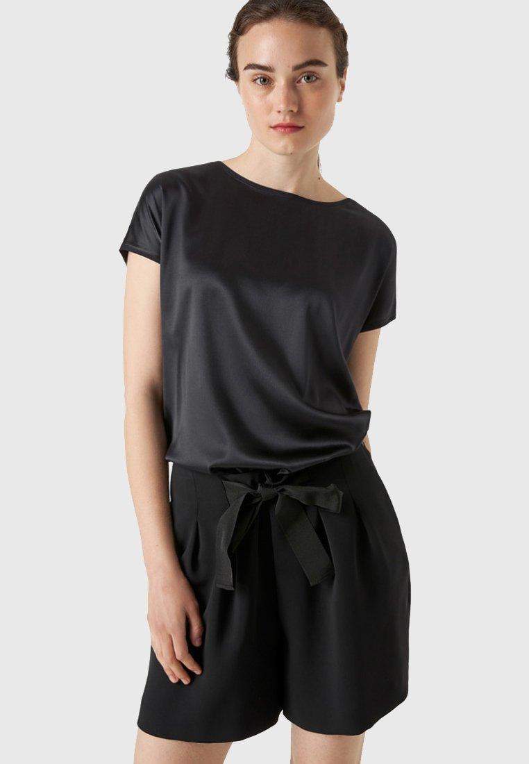 HALLHUBER - T-shirt basique - black