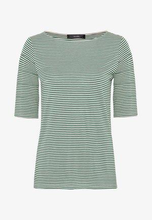 MIT HALBÄRMELN - T-Shirt print - jade