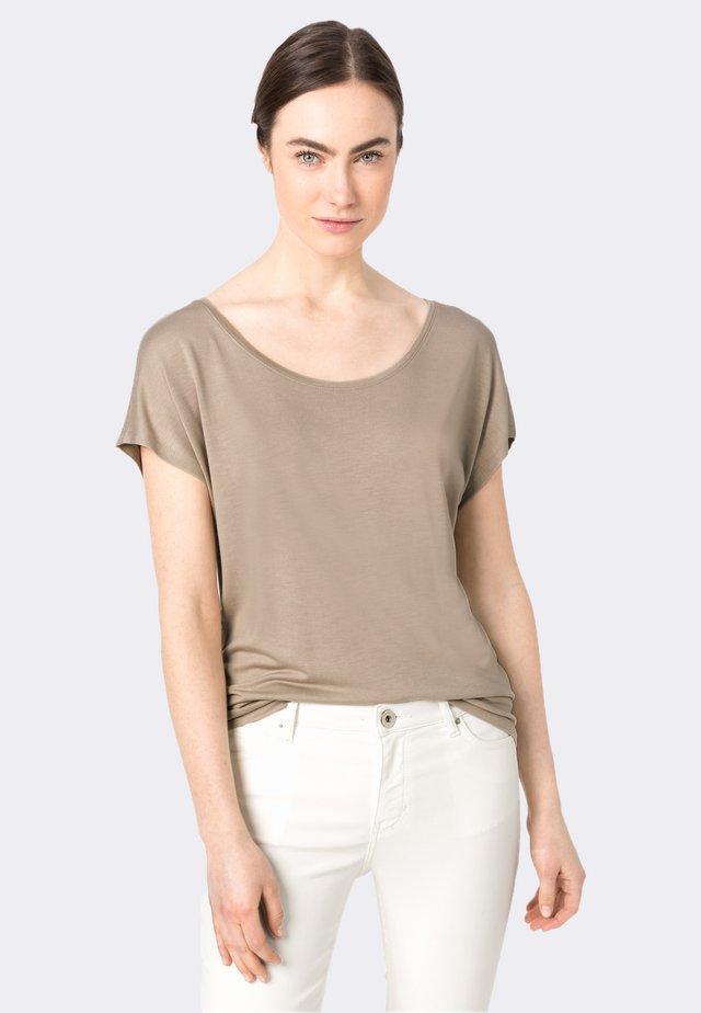 ARRONDIE - T-Shirt basic - putty
