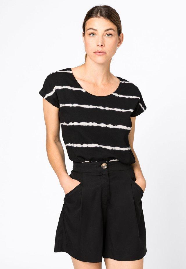 T-Shirt print - zwart