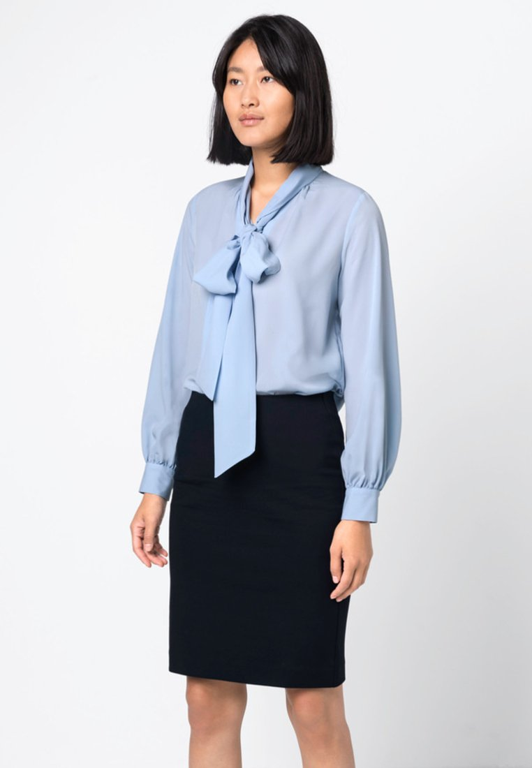 HALLHUBER - Button-down blouse - sky blue