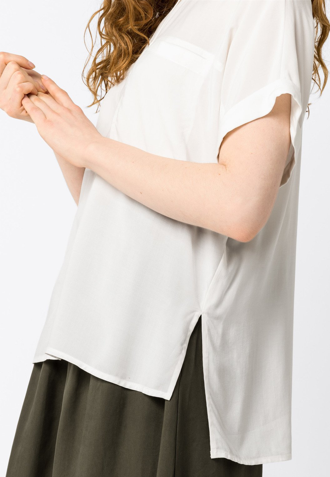 Hallhuber Overhemdblouse - Offwhite ARxhZ0I