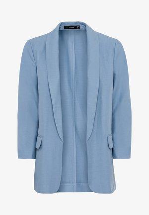 MIT LEINEN & TENCEL™ - Blazer - light blue