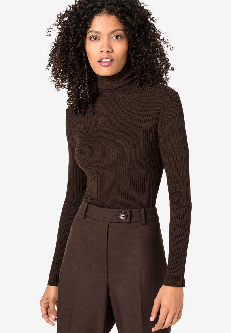 HALLHUBER - Pullover - brown