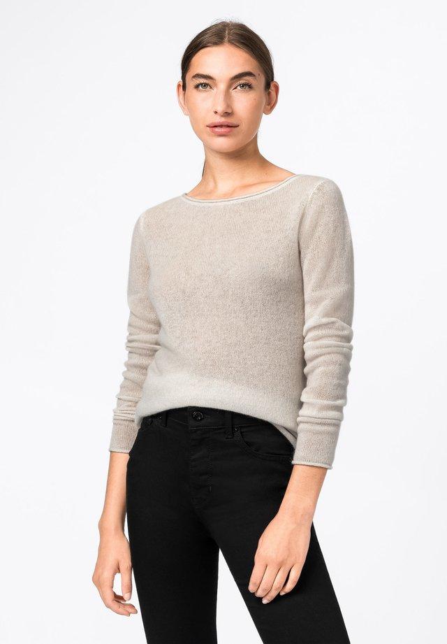 Pullover - creme