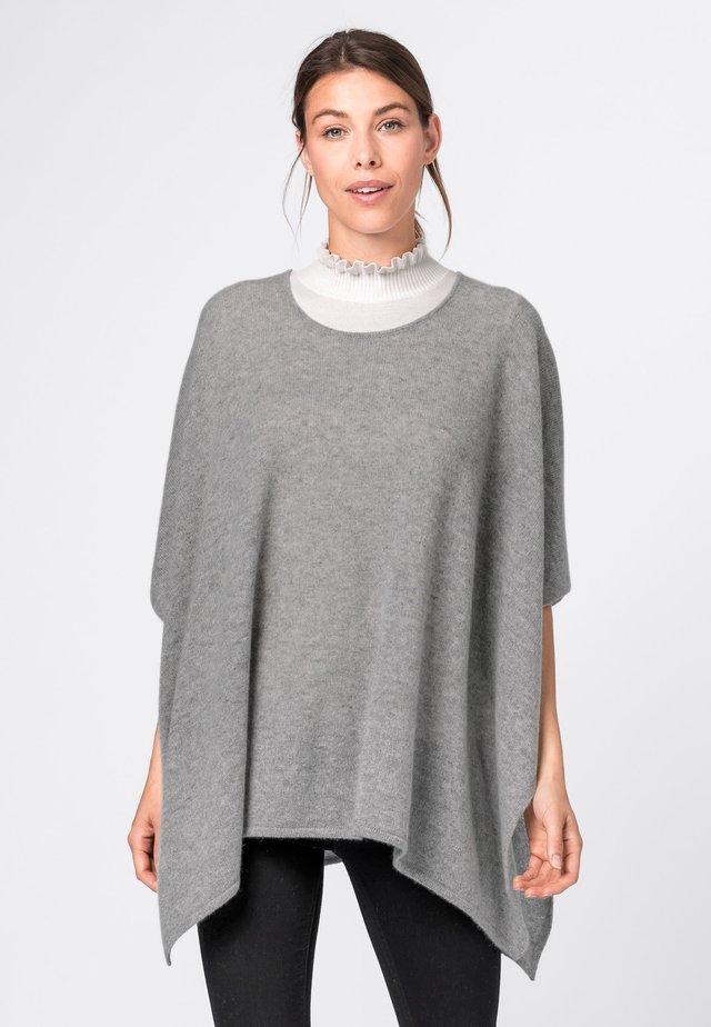 Pullover - hell silber-melange