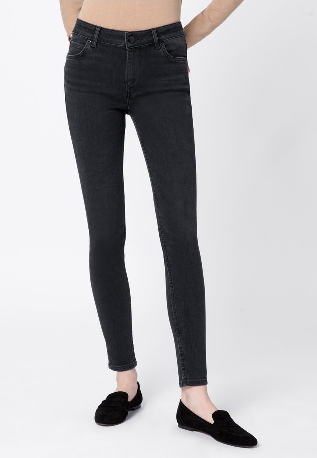 CANDIANI - Jeans Skinny - dark grey denim