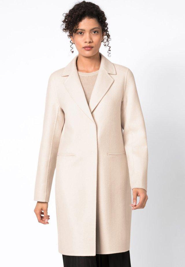 Manteau classique - creme