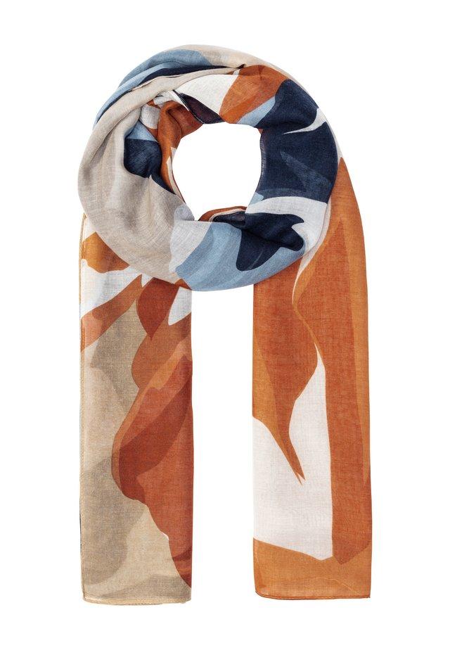 MIT ABSTRAKTEM BLÄTTERPRINT - Sjaal - multicolor
