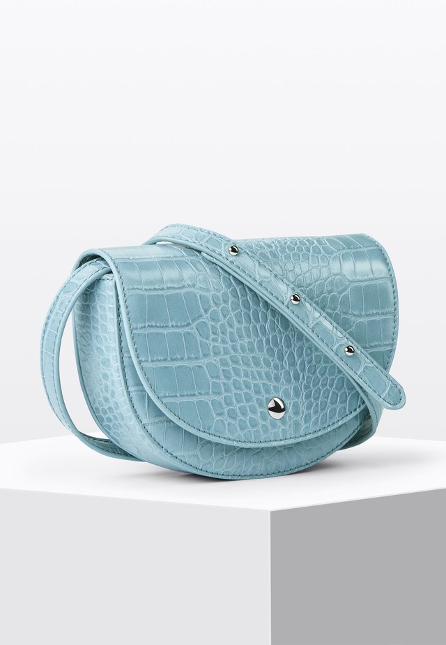 TWO-IN-ONE - Across body bag - ice blue