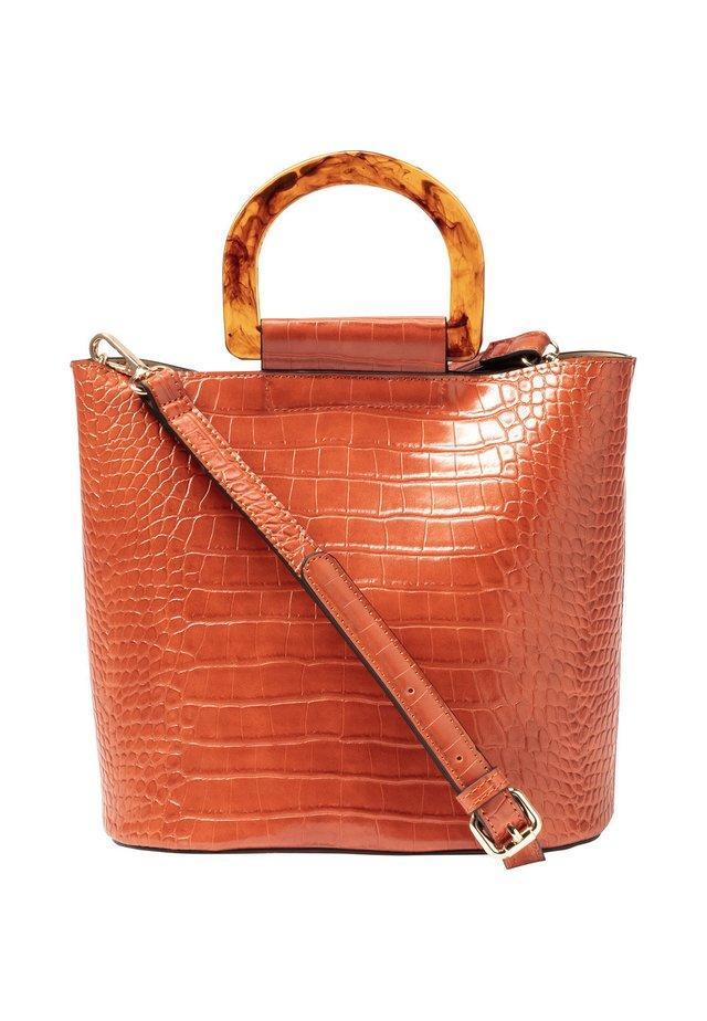 Handtasche - kupfer