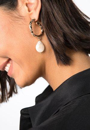 Earrings - gold-coloured