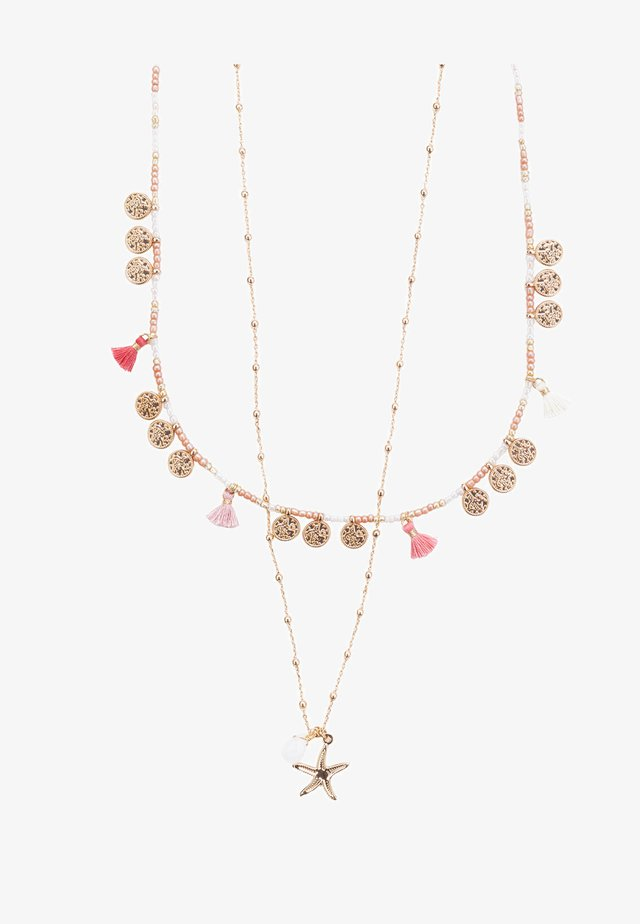 Halskette - multicolore
