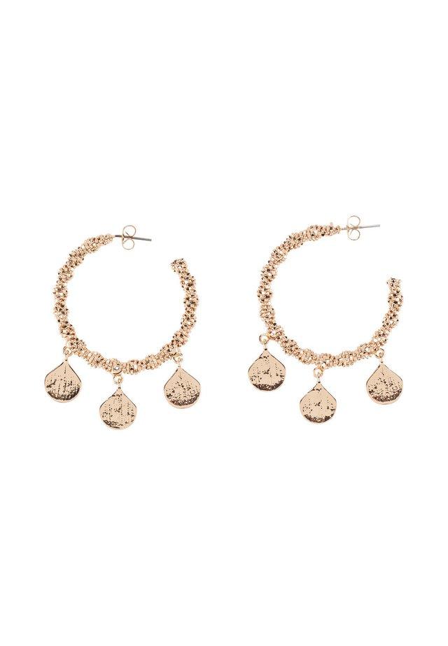 Boucles d'oreilles - goud