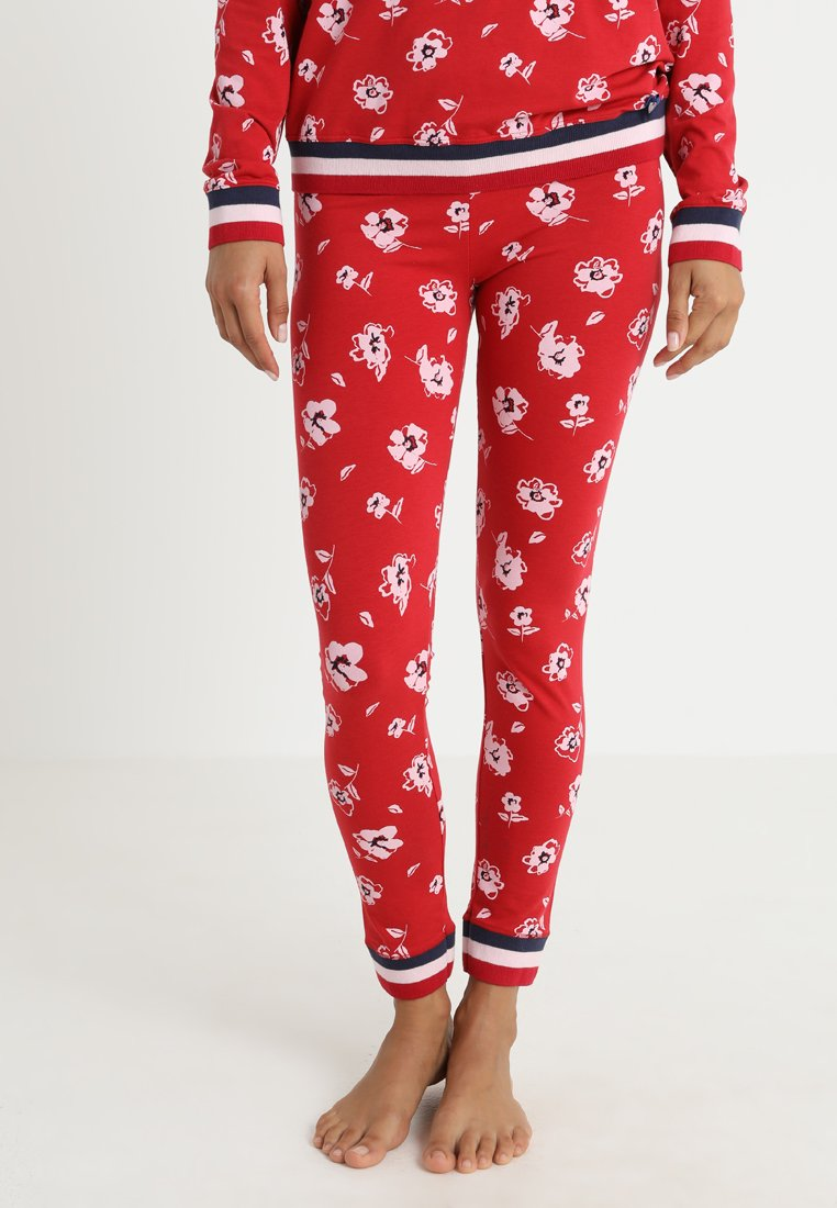 Short Stories - BLOOMSBERRY LEGGINS - Nattøj bukser - red