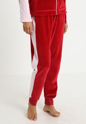 BLOOMSBERRY PANTS LONG - Spodnie od piżamy - red