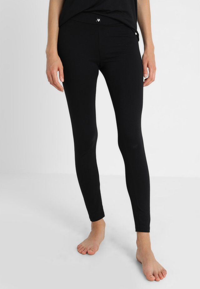 BLACK MATTERS LEGGINS - Pyjamasbukse - black