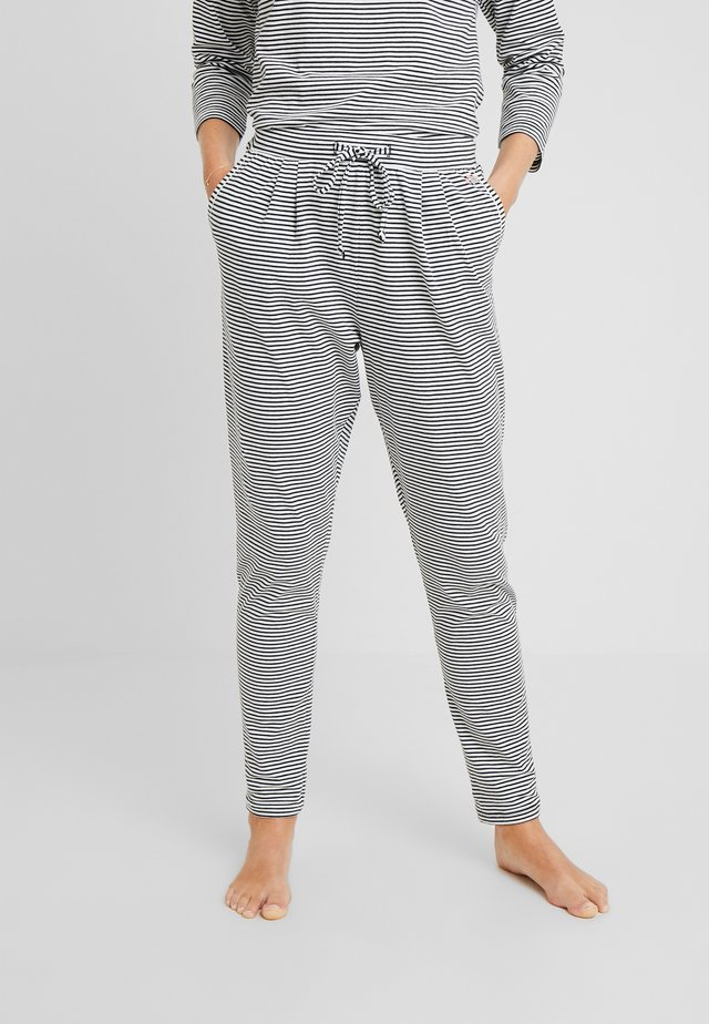 PANTS LONG - Pyjamasbukse - black