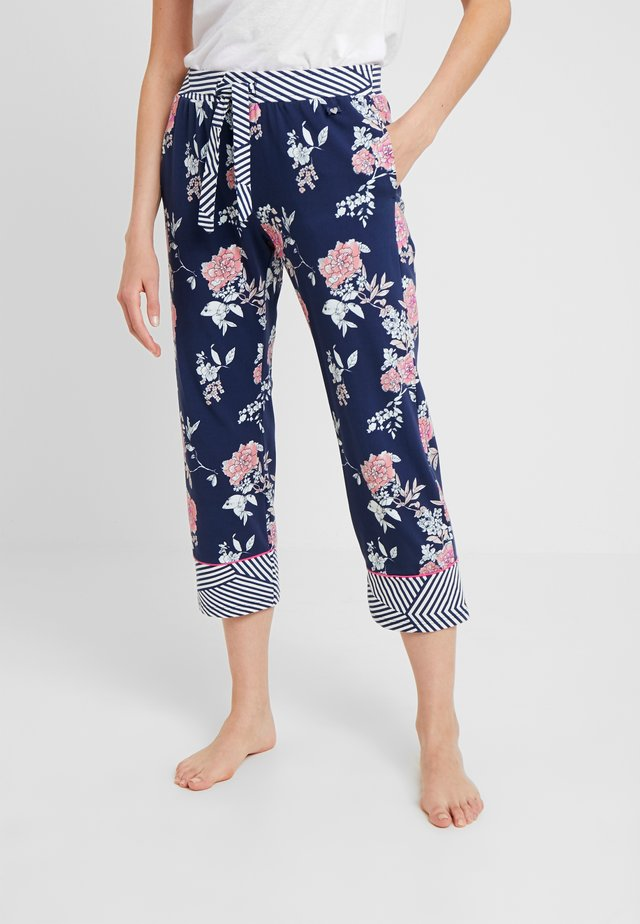 MOTION PANTS - Pyjama bottoms - blue/pink/white