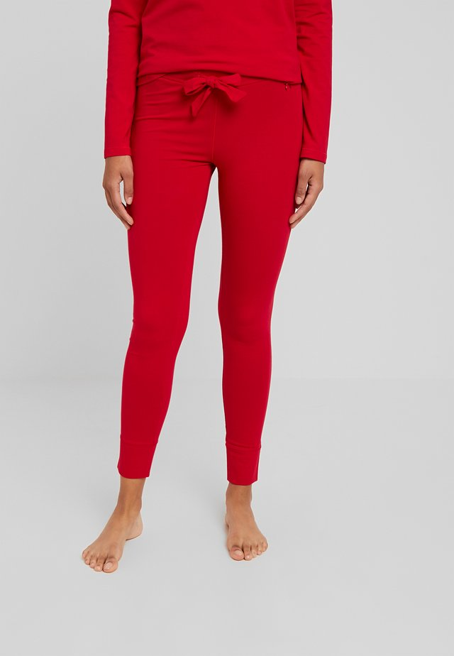 LEGGINGS - Pyjamasbukse - red