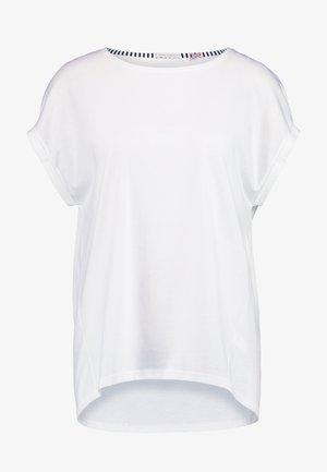 Pyjamasoverdel - white pebble