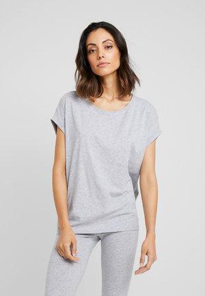 Pyjamasoverdel - grey melange