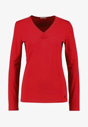 Pyjamasoverdel - red
