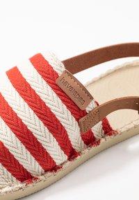 Havaianas - ORIGINE MULE STRAP - Sandaler - red/raw - 2