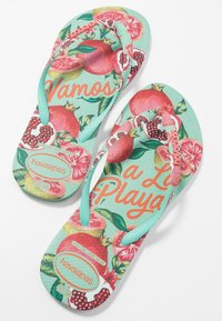 Havaianas - SLIM FIT SUMMER - Klipklappere/ klip klapper - green dew - 7
