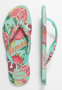 Havaianas - SLIM FIT SUMMER - Klipklappere/ klip klapper - green dew - 0