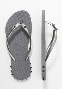 Havaianas - SLIM FIT ROCKY - Infradito - steel grey