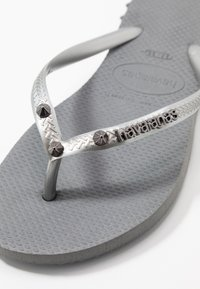 Havaianas - SLIM FIT ROCKY - Infradito - steel grey - 2