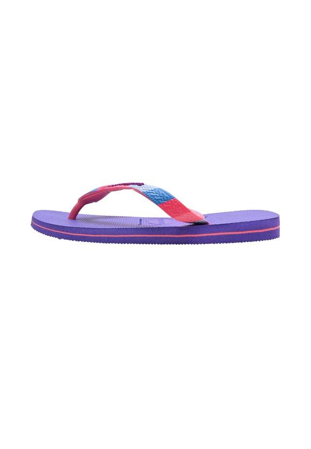 VERANO  - Bade-Zehentrenner - purple
