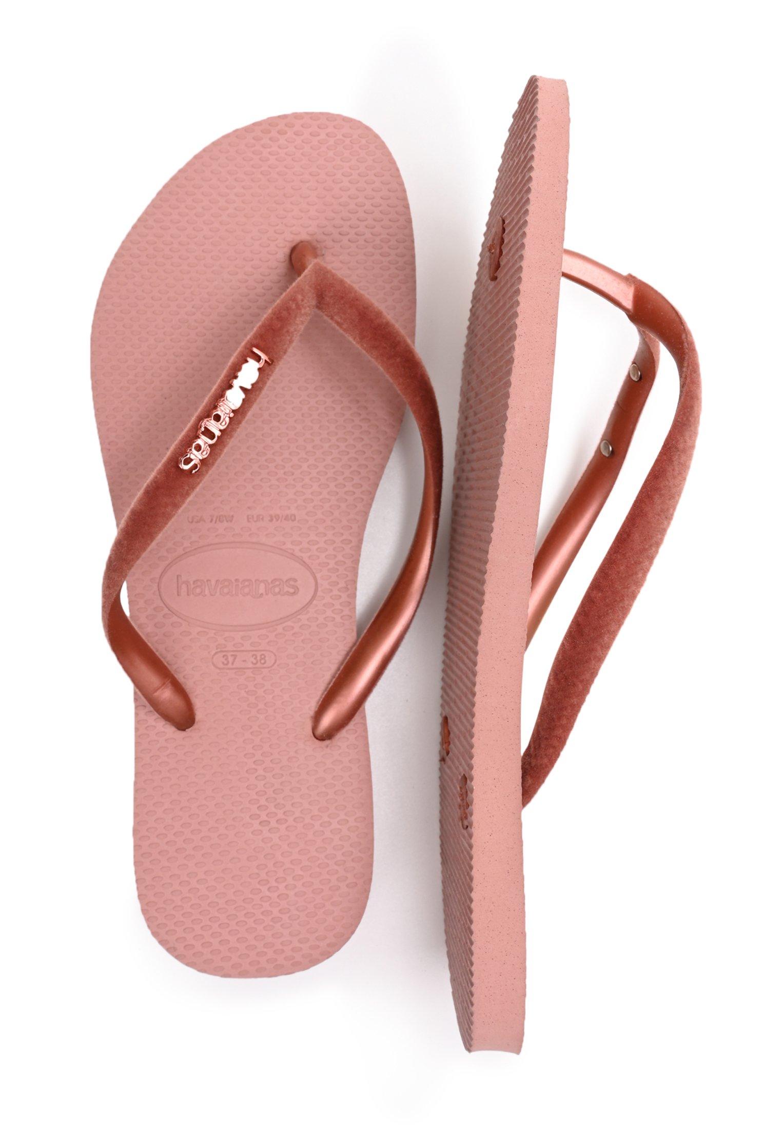 Havaianas SLIM VELVET  - Sandales de bain - pink