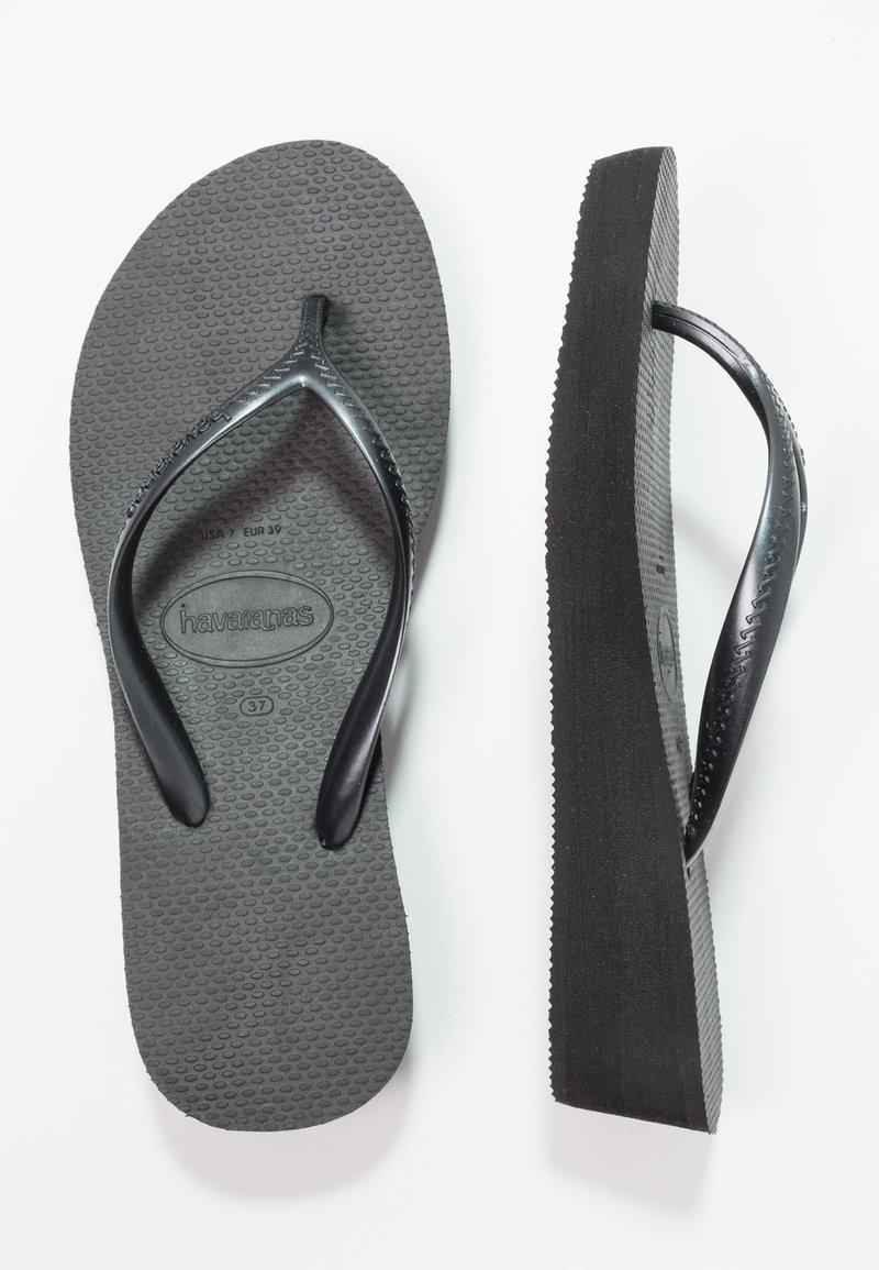 Havaianas - HIGH LIGHT - Pool shoes - black