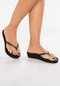 Havaianas - HIGH LIGHT - Pool shoes - black - 1