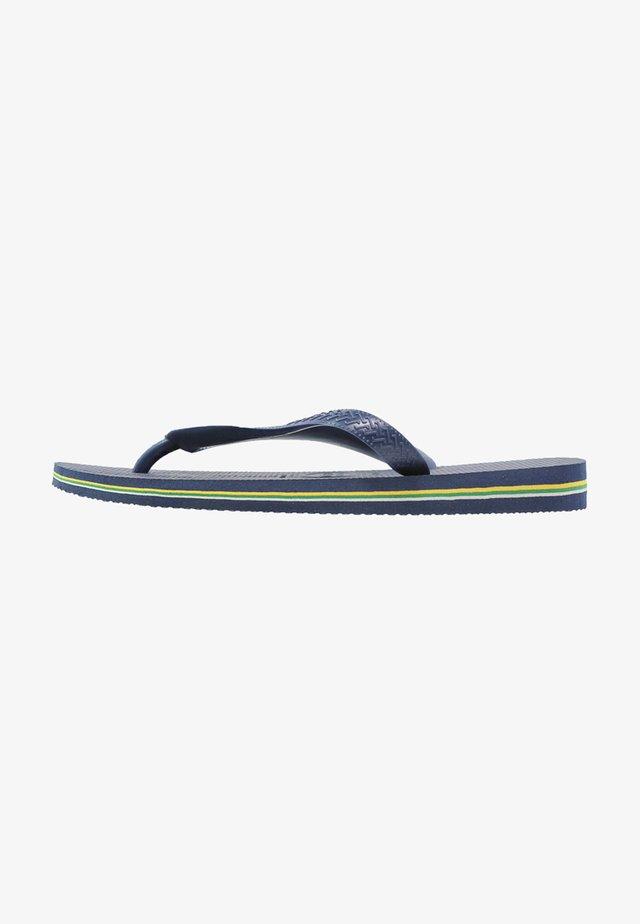 BRASIL LOGO - Klipklappere/ klip klapper - navy blue